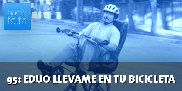 #95: Eduo, llévame en tu bicicleta