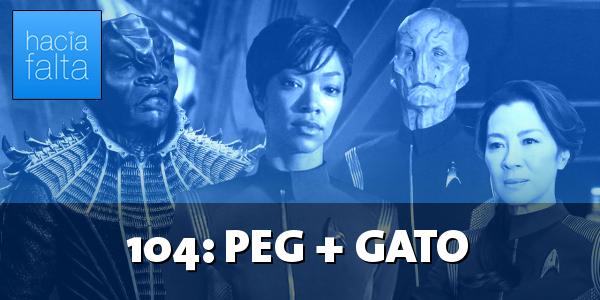#104: Peg + Gato