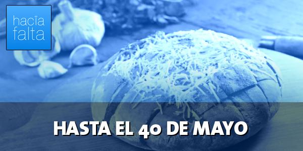 #129: Hasta el 40 de mayo